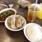 シンガポール,肉骨茶,有名店,ソンファバクテー,メニュー,チャイナタウン