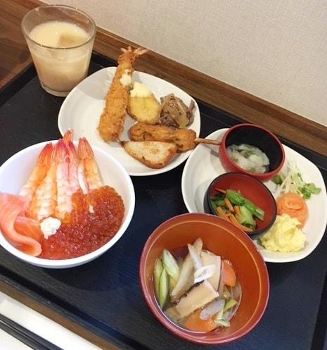 朝食,美味しい,ホテル,大人気,ドーミーイン,小樽,海鮮,バイキング