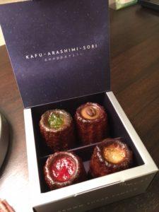 沖縄土産のおしゃれで人気なお菓子!ほうき星 黒糖カヌレの口コミは?