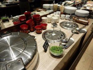 ひじき煮、鯖、豚肉の生姜焼き、ベーコン、ポテト。