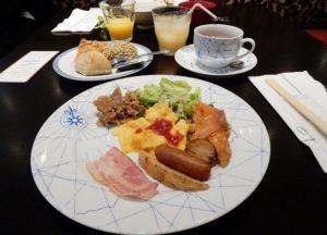 ロイヤルパークホテル福岡,旅行記,オクタカフェ,朝食,口コミ