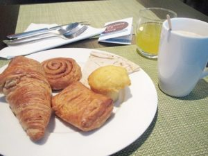 ハイアットプレイスドバイ、朝食、女子一人旅