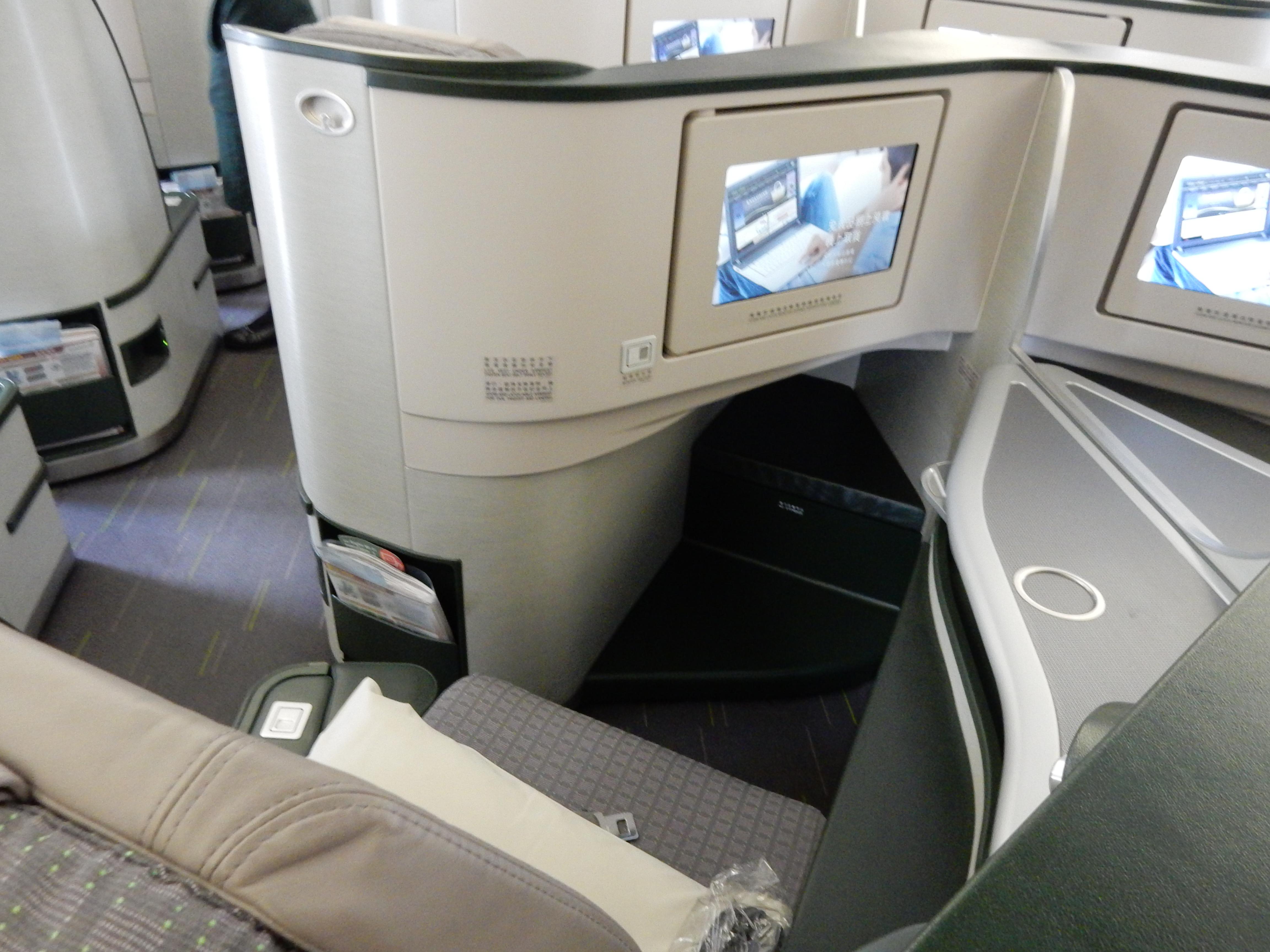 エバー航空,ビジネスクラス,搭乗記,機内食,台北,シンガポール