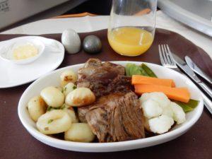 エバー航空ビジネスクラス搭乗記 機内食も紹介!台北←シンガポール